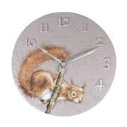 Wrendale Squirrel Wall Clock